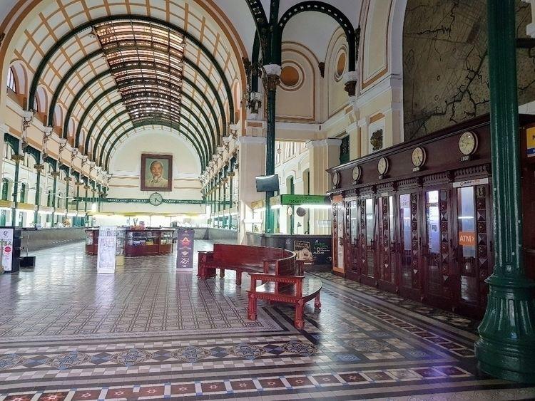 Saigon Central Post Office, Bến - sezzyharris | ello