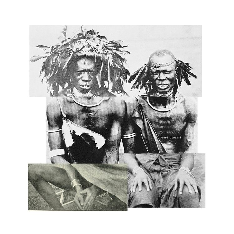 AfroMontage pt.6 digital collag - jessijumanji | ello
