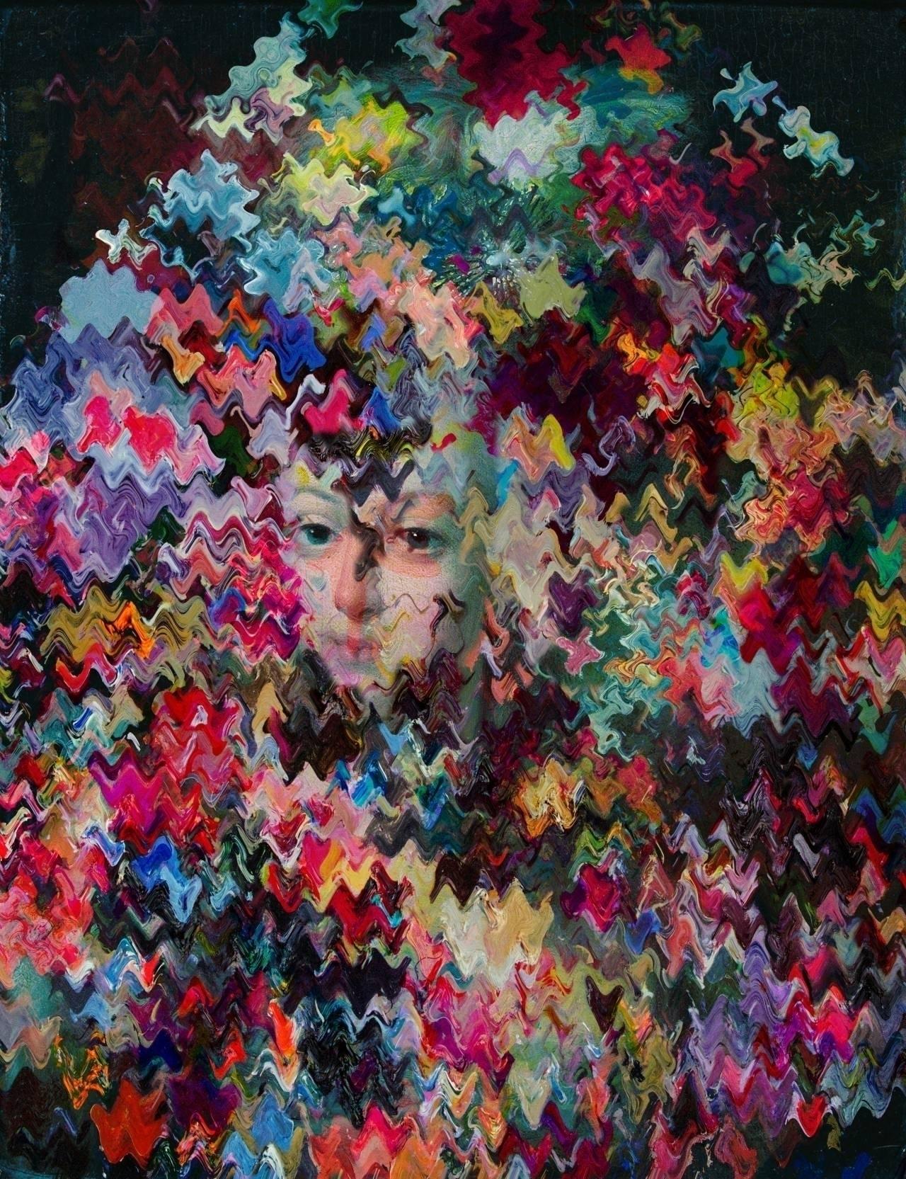 Mixed media paintings Sleep Wal - inag   ello