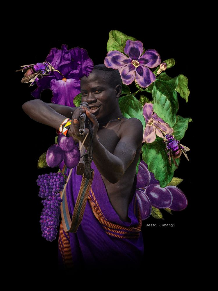 AfroChromatics pt.6 - digital c - jessijumanji | ello