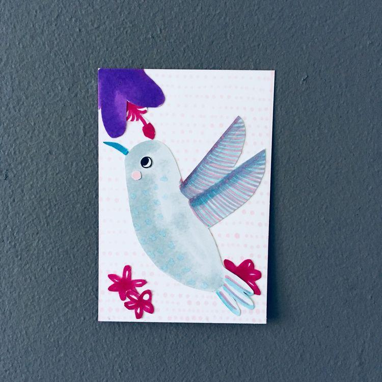Hummingbird series spirit anima - studiomalu | ello