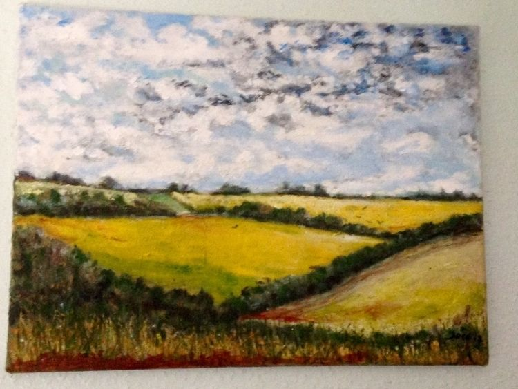 Cornish Fields (Oil Canvas) 16  - joseworld | ello