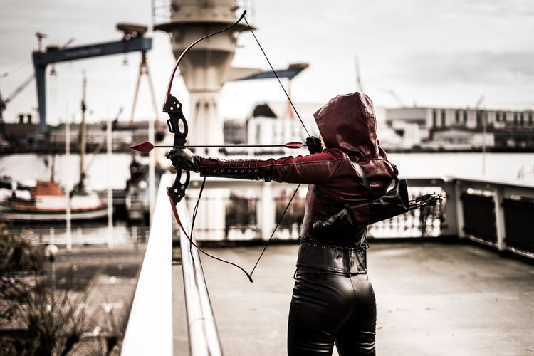 cosplay, arrow, photography, model - olligraphy | ello