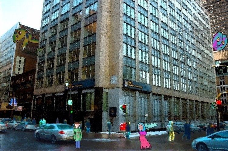 Bank Tower - montreal, Quebec, canada - mangekkojones | ello