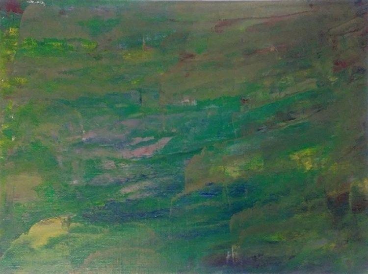 Ocean Yellow 9x12 Oil Canvas Pa - robinccpoole   ello