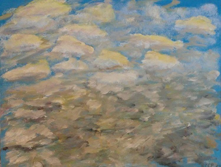 Coming Storm 11x14 Oil Canvas - robinccpoole   ello