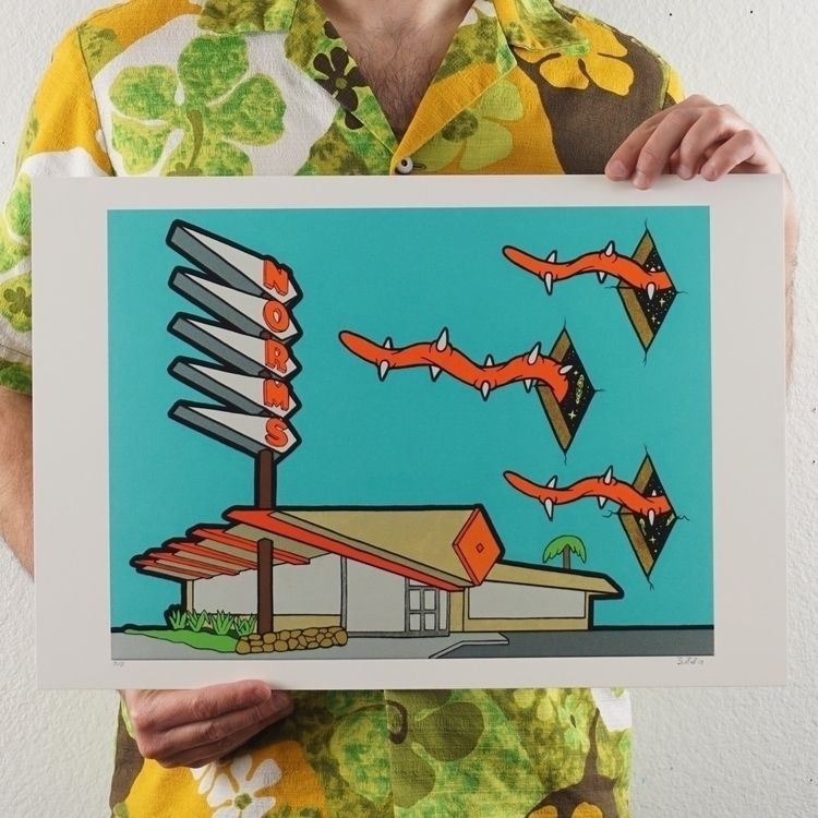 print release! Paranormsal larg - speczacular | ello