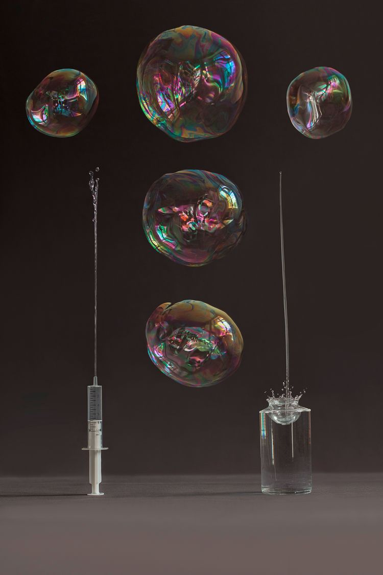 bobbles, soap, injection, water - jancarlbartels | ello