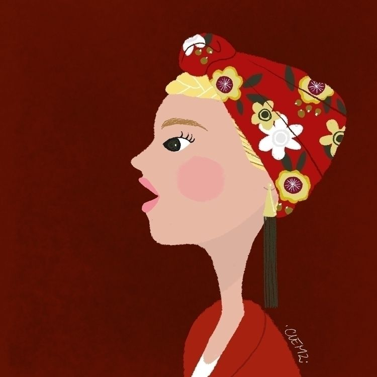 indiradeparis, illustration, girl - clemzillu | ello