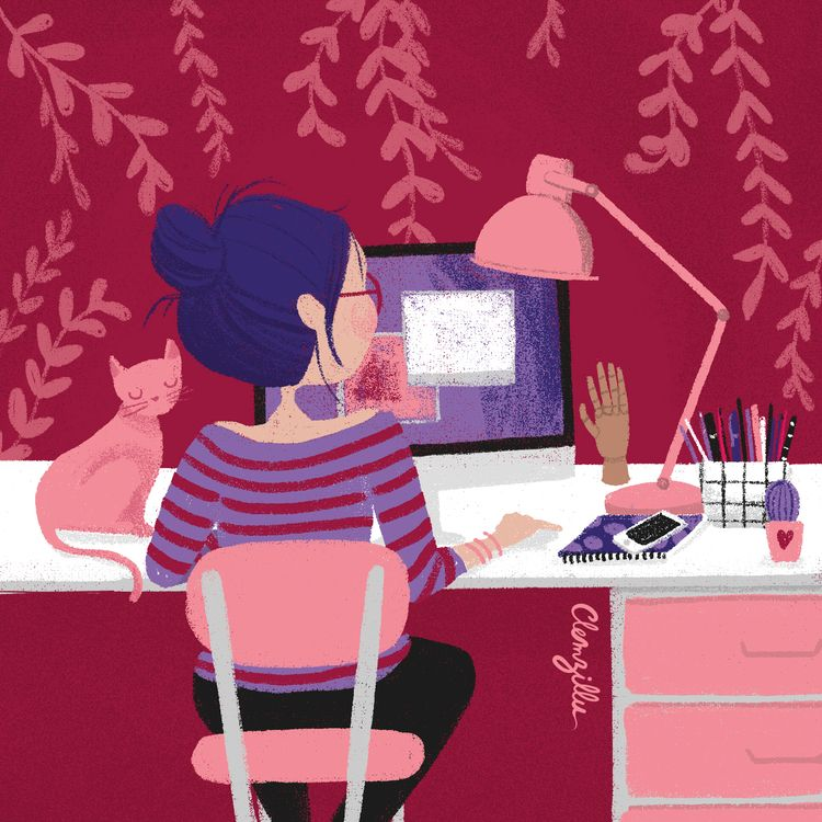 workspace, bureau, inspiration - clemzillu | ello