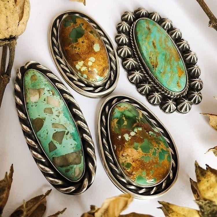 :sparkles:Turquoise Jewels:spar - silverravenstudio | ello