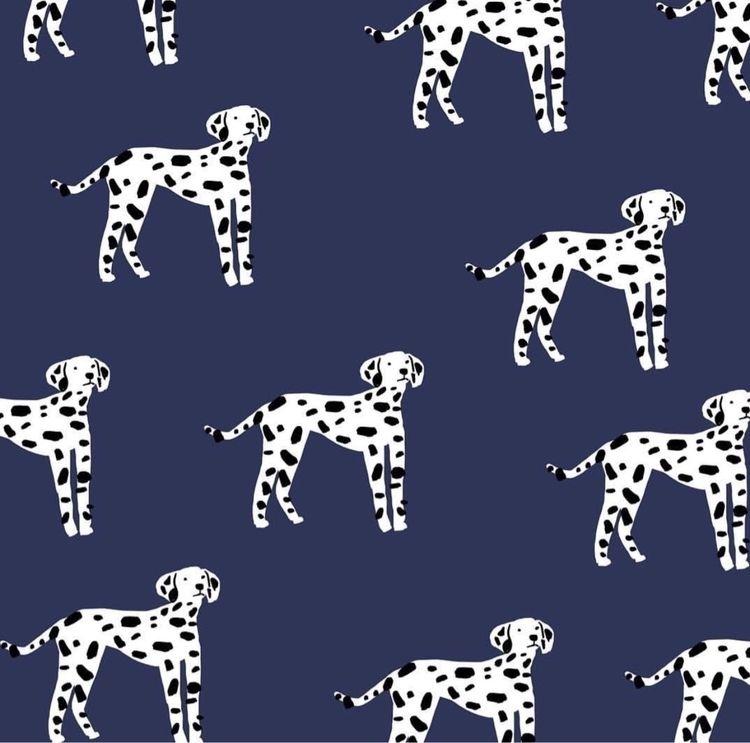 Dalmatians - dogs, print, illustration - andrecaceresg | ello
