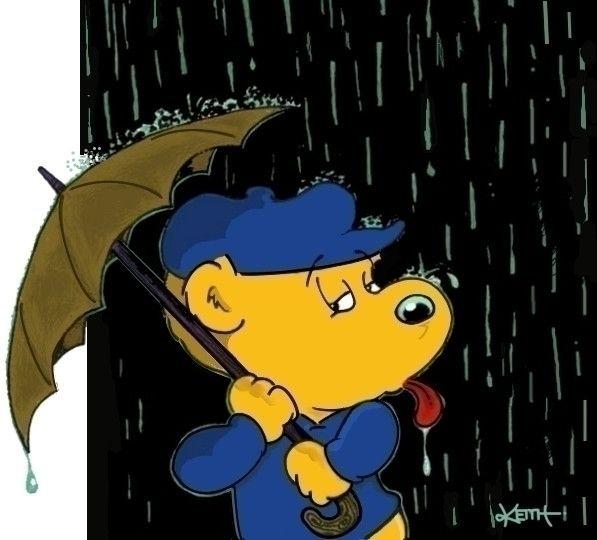Taste Rain - cartoon, cartoons, ferret - ferald | ello