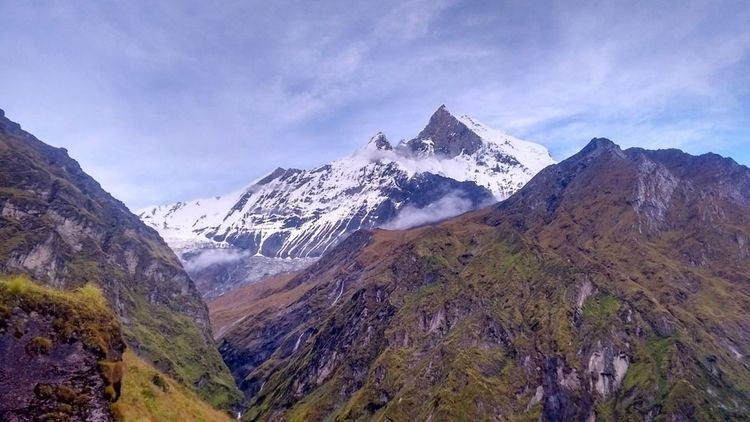 Stunning view Annapurna - travelmassif - travelmassif   ello