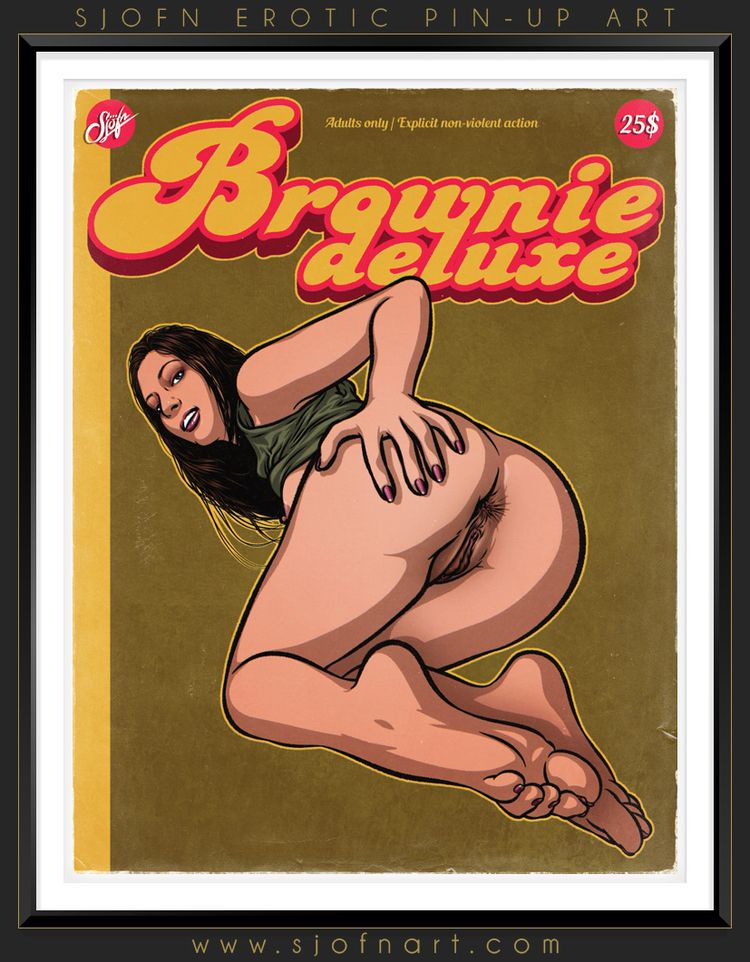 Brownie deluxe - September 2015 - sjofnart | ello