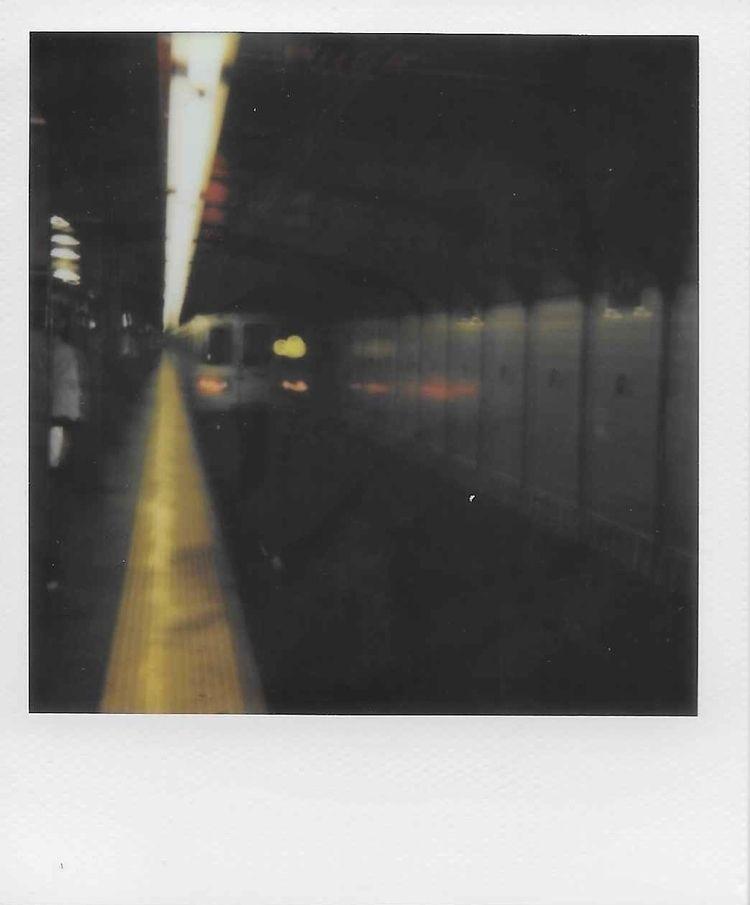 Impressionistic Train - polaroid - iilego | ello