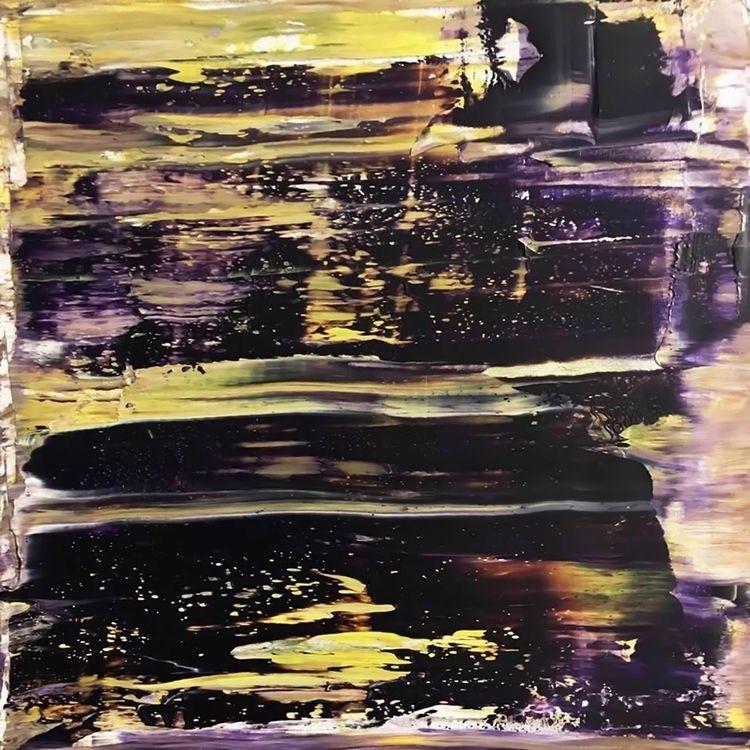 Lake, oil canvas, 40 cm, 2018.  - luciasimone | ello