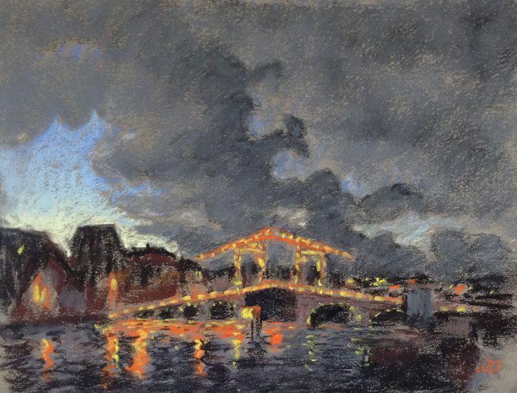 Skinny Bridge, Amsterdam - geritsel | ello