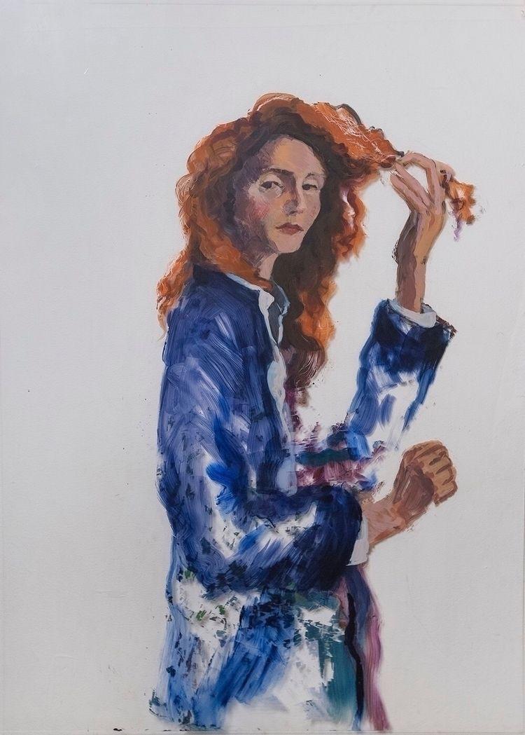 plexi, portrait, acrylic, paint - yuliavirko | ello