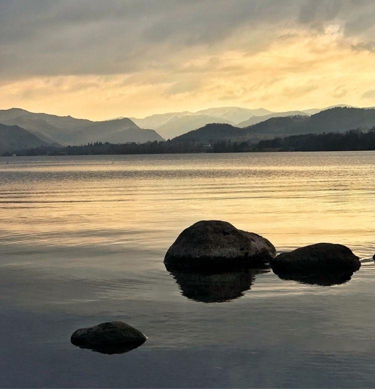 Lakes nights sunset Ullswater - paulbullen | ello