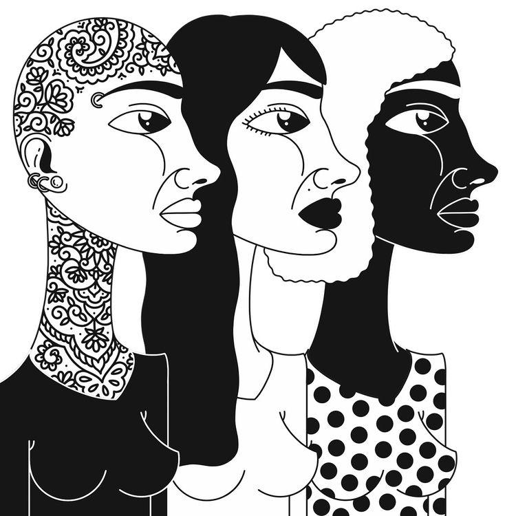 illustration, art, drawing, blackandwhite - alicecquaglia   ello