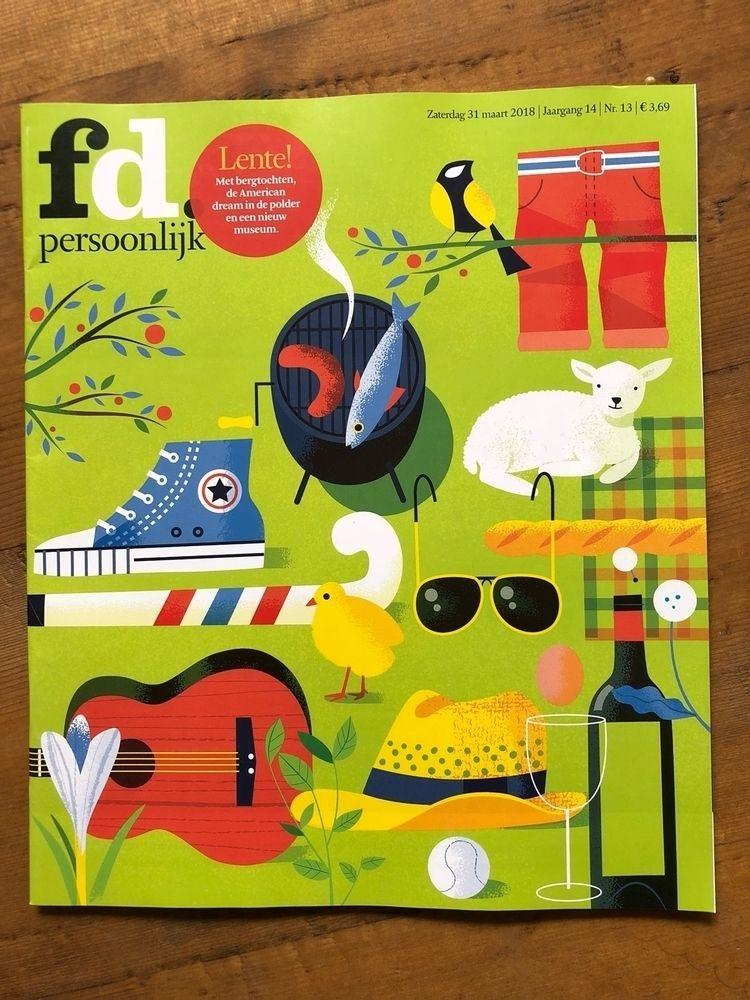"Fd Easter cover special "" resta - studiogarcia | ello"