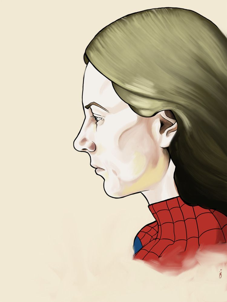 Sad determined —- Spider-Woman - notbadart | ello