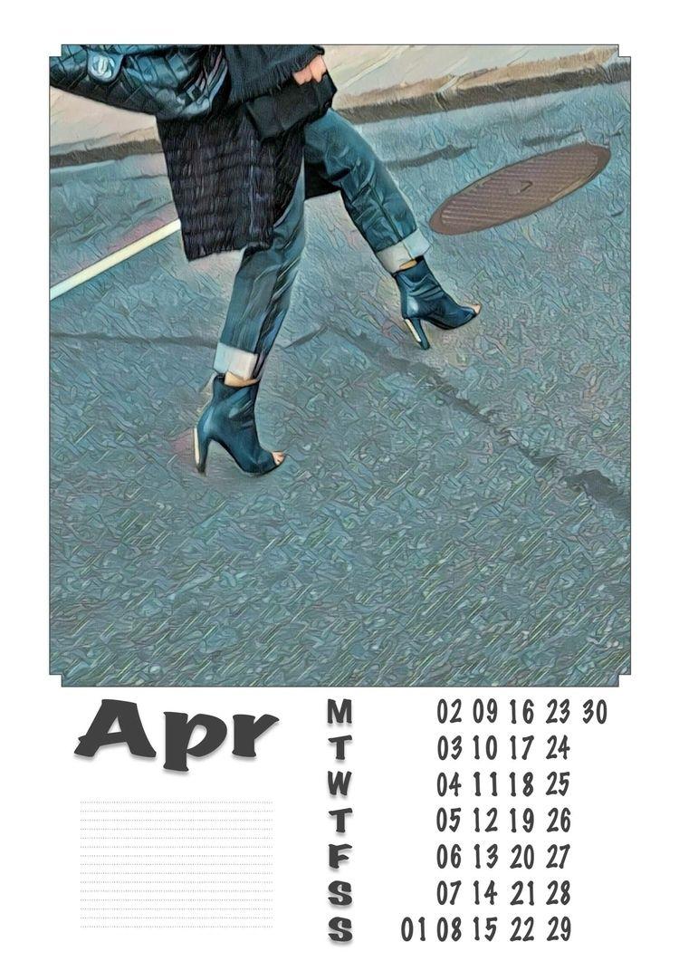| April - Legs, Heels, Photography - ziolele | ello