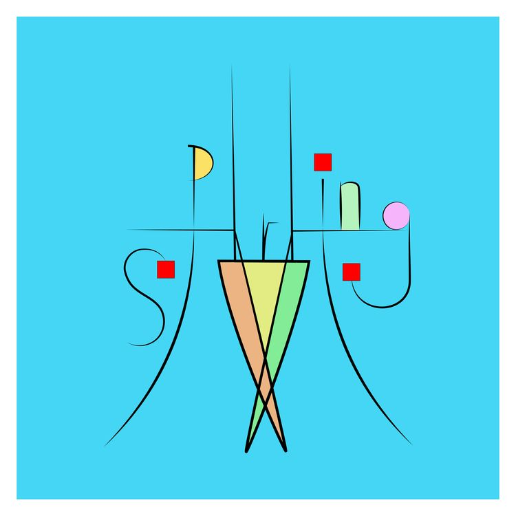 Seasons - calligraphy, abstract - halehj | ello