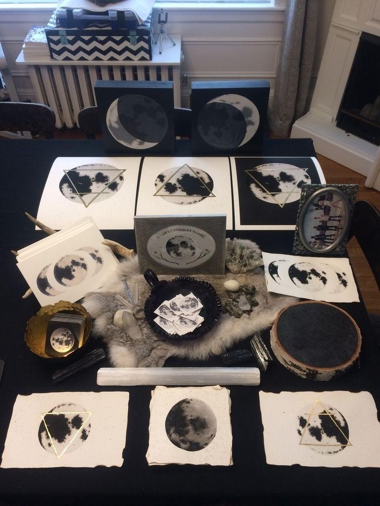 test setup wares moon market - silverfoxgoldenhare | ello