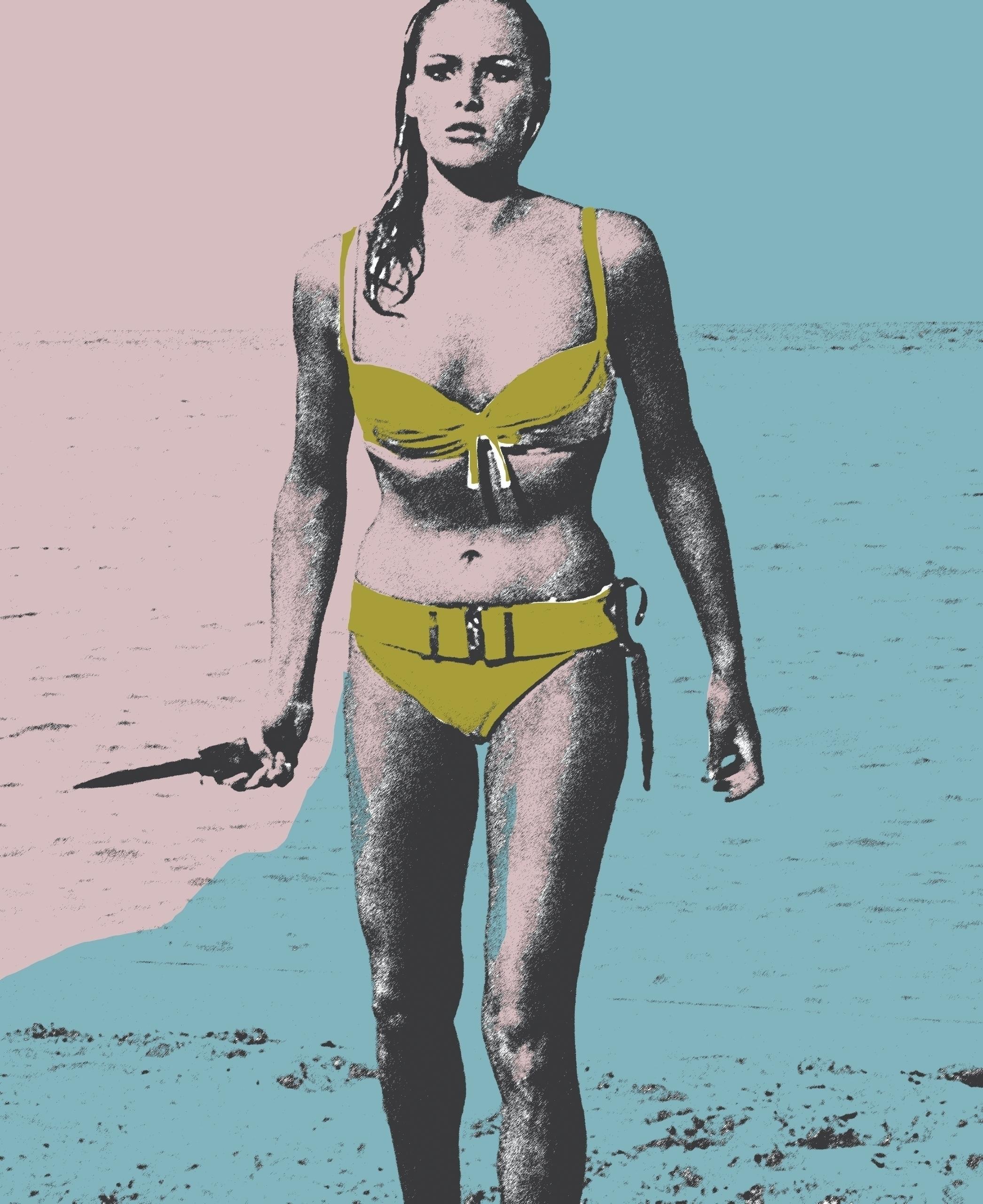 beach Dr. James Bond screenprin - michibroussard | ello