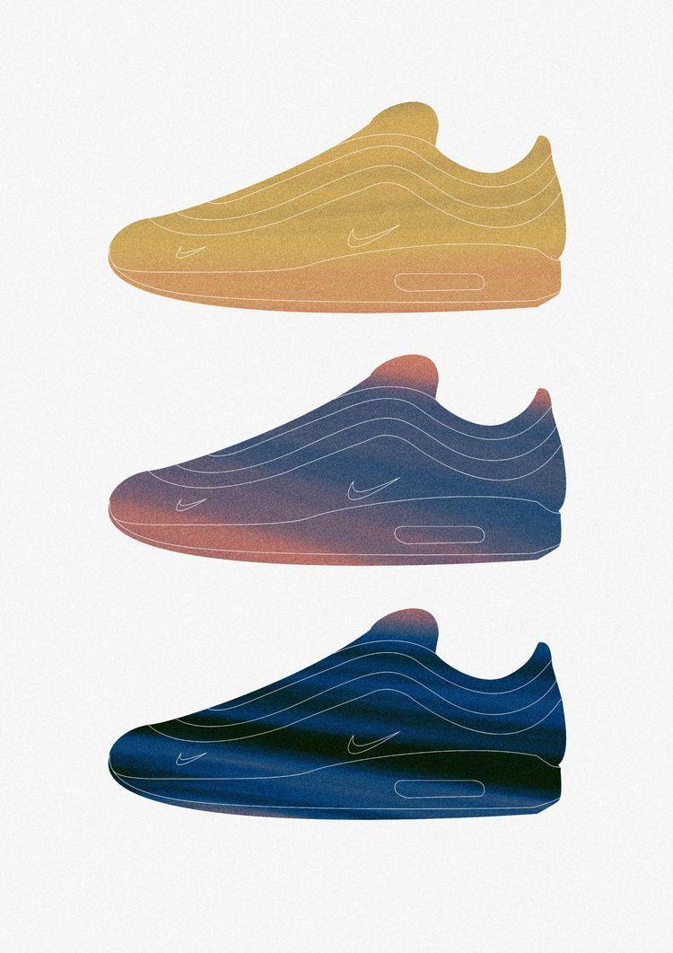 Inspired Sean Nike Air Max 97/1 - triiniitydesigns | ello