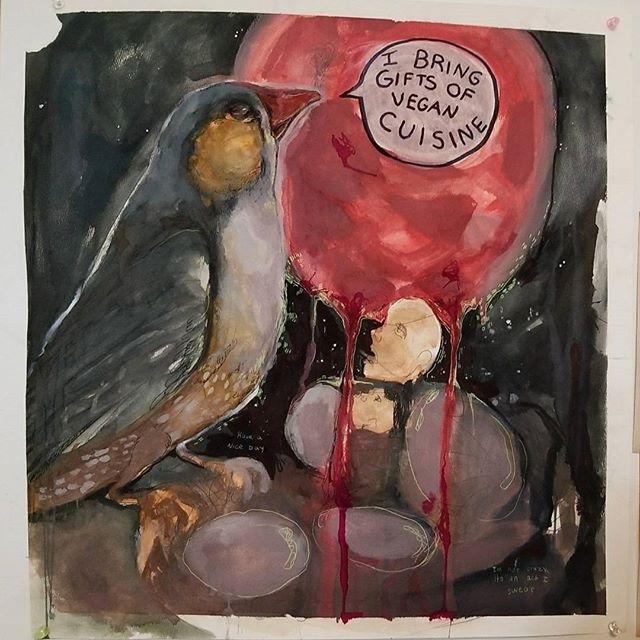 Devine Begining watercolour, ac - sarafina_collura | ello