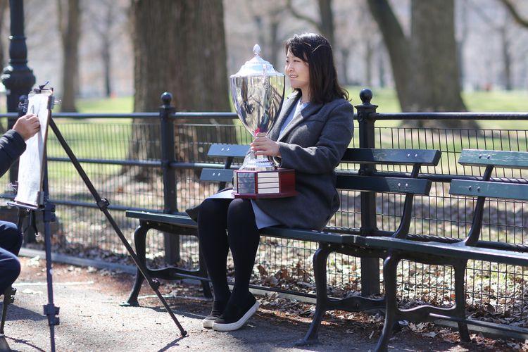Trophy woman posing custom sket - kevinrubin | ello