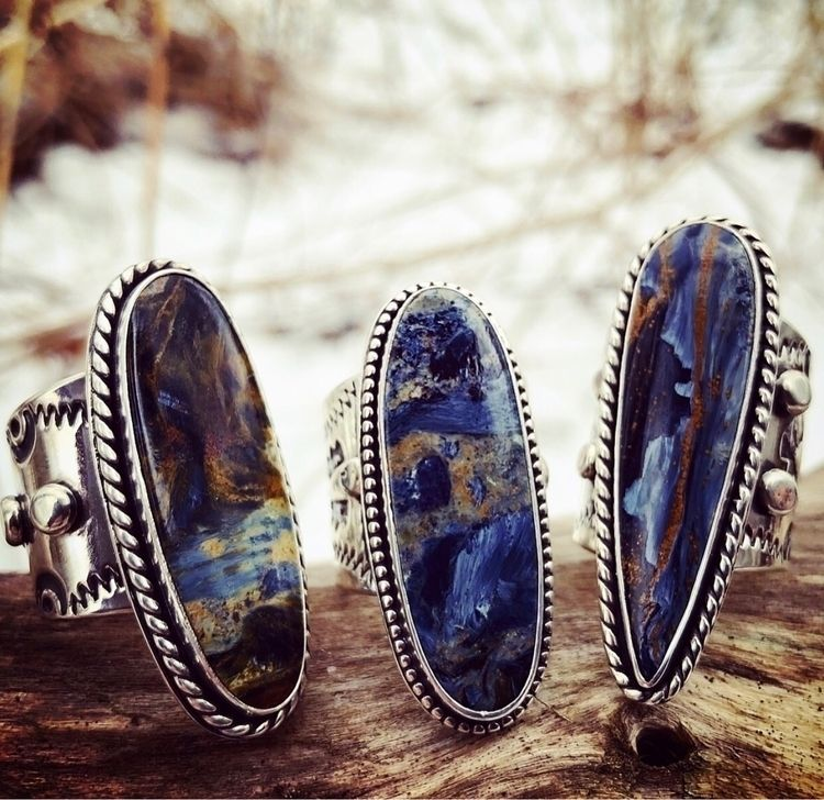 Pietersite Jewels landed Shop - SilverRavenStudio - silverravenstudio | ello