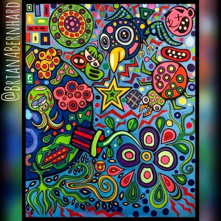 hours painting world fluidity u - brianabernhard   ello