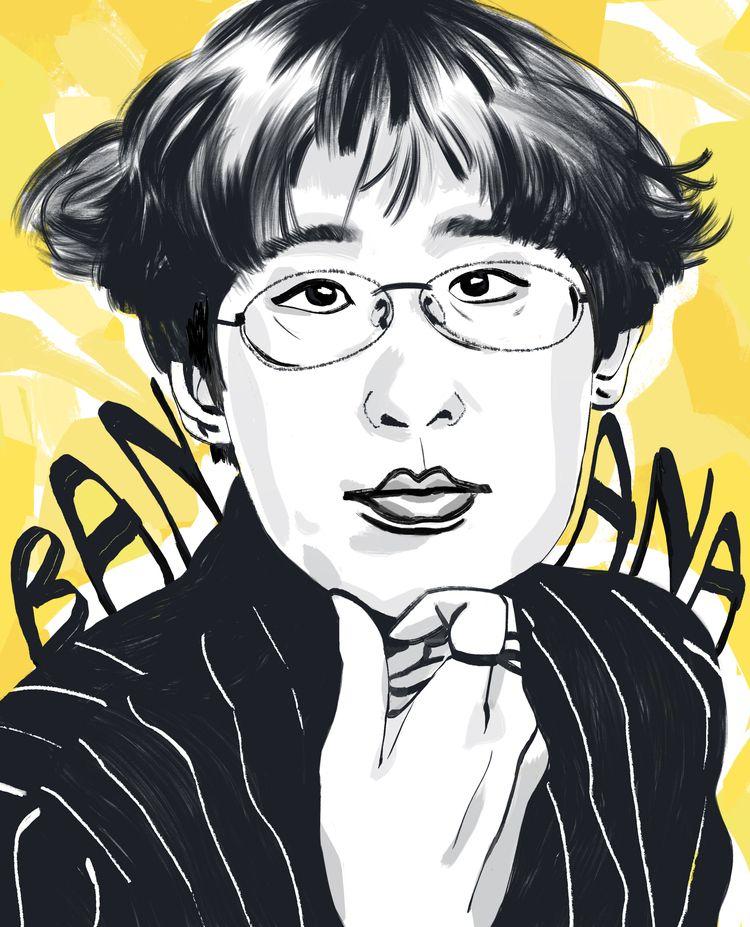 'Banana Yoshimoto - art, arte, artinfo - ciaran_illustration | ello