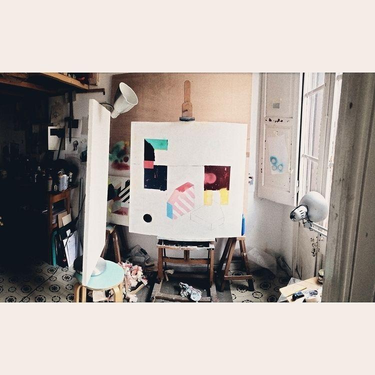 17022018' 100x100cm. Studio. Ba - aruizvillar | ello