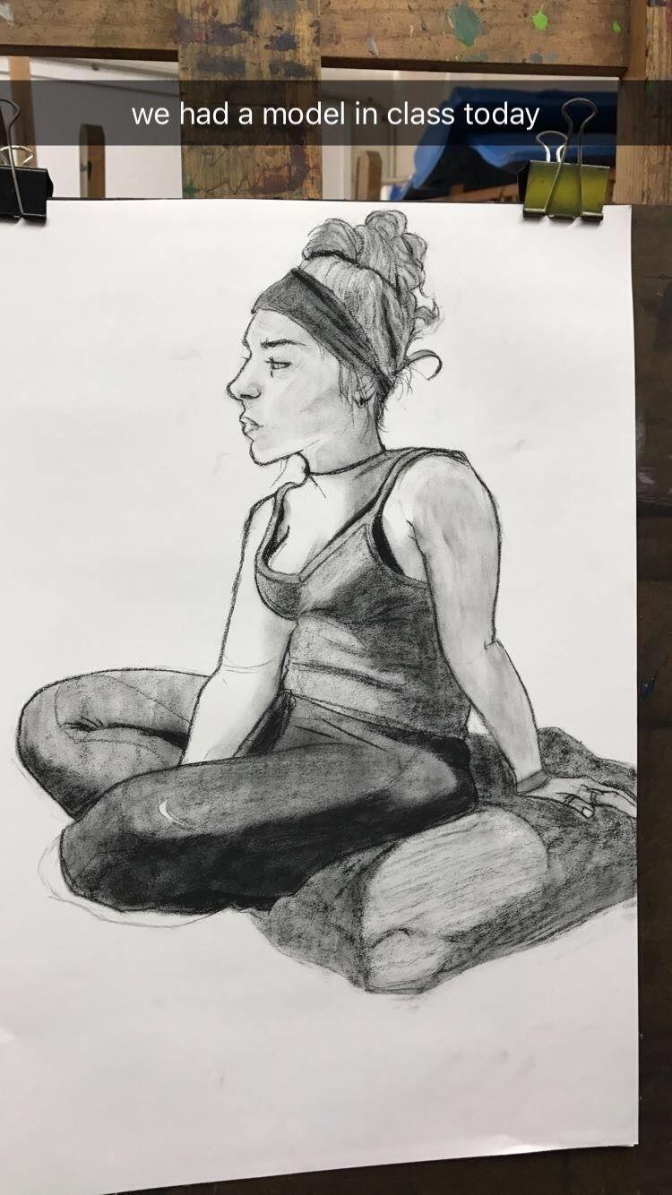 model drawing class day, ft. pi - cutiepatoot   ello