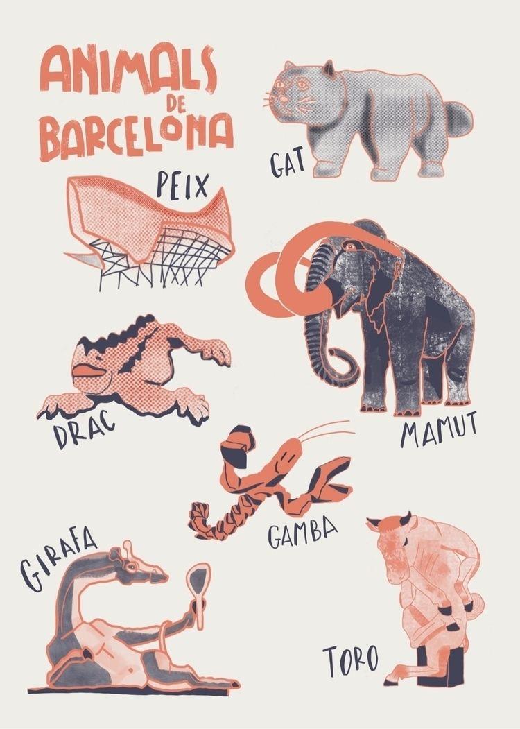 Wildlife barcelona - publicart, sculptures - siralobo | ello
