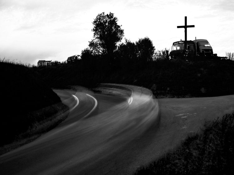 road  - slowdown#monochrome, blackandwhite - davidtatarciak | ello