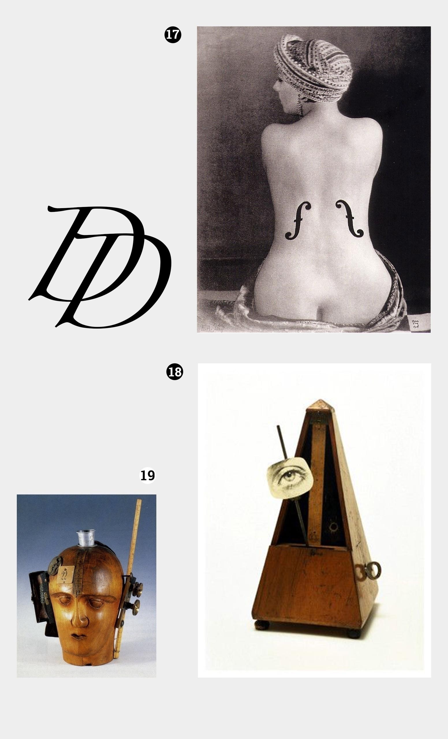 Obraz przedstawia trzy zdjęcia. Widzimy jedną fotografię i dwa obiekty. Obok czarne litery.