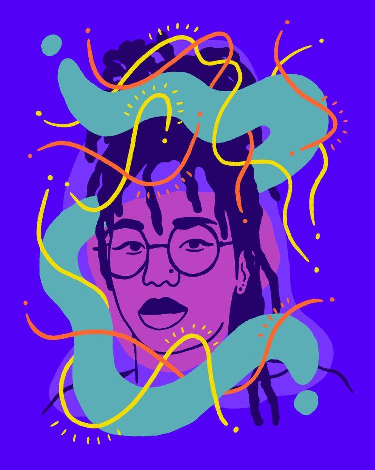 Garden Thoughts - illustration, illustrator - heybop | ello