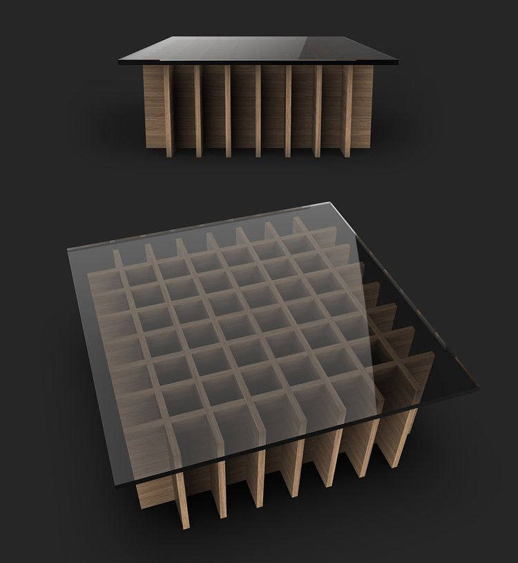 Mattix Coffee Table. Raw plywoo - jamesowendesign | ello
