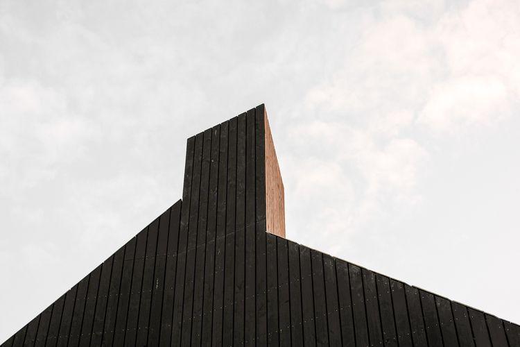 Geometric roof Contrast Rain Wo - ulyssepicture | ello