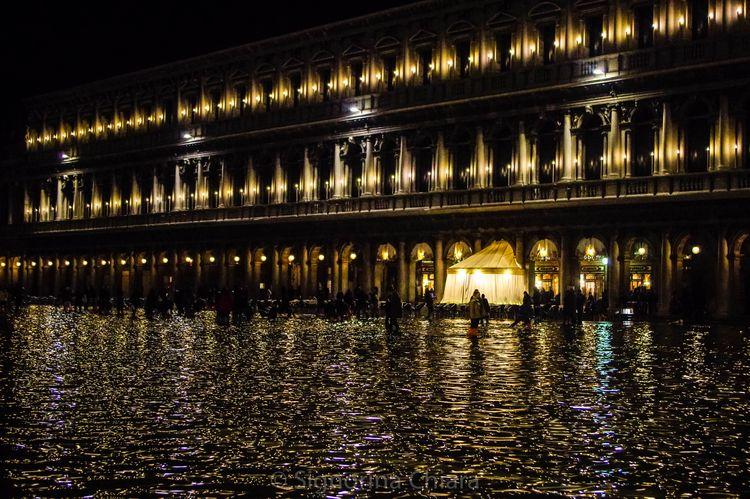 aqua alta San Marco Venezia, 31 - chiaralucissimi | ello