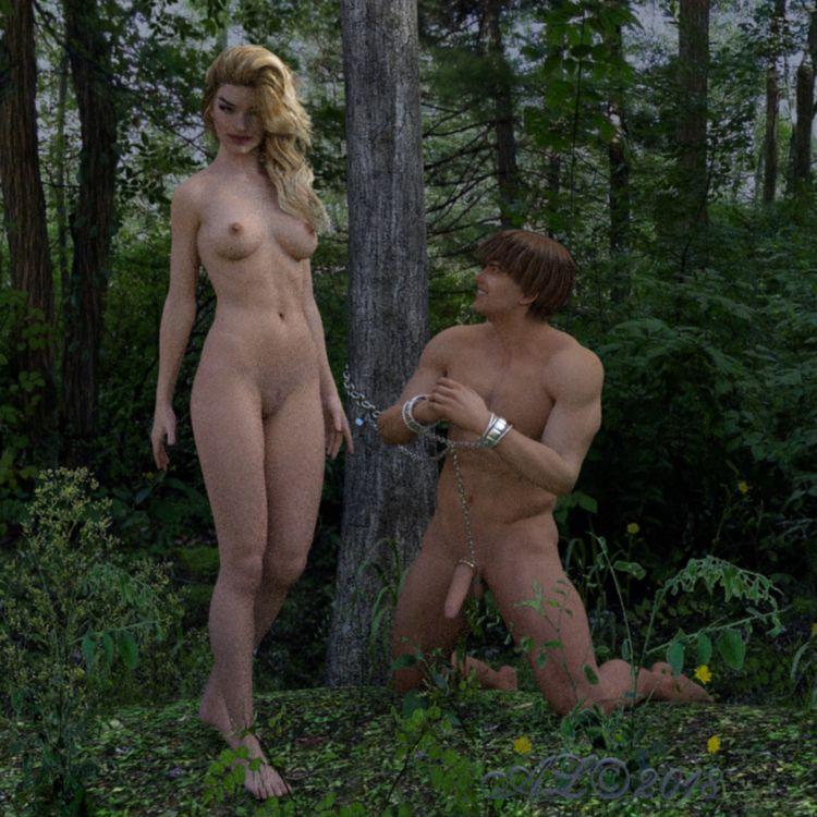 witch, forest, sex, man, chains - franklange | ello
