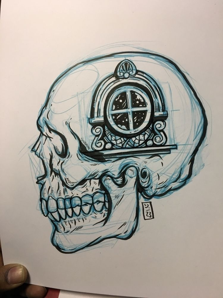 Grand Portal - illustration - thomcat23 | ello