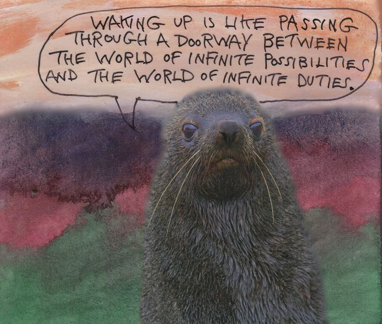 Waking world - sleep, waking, dreams - stoicmike | ello