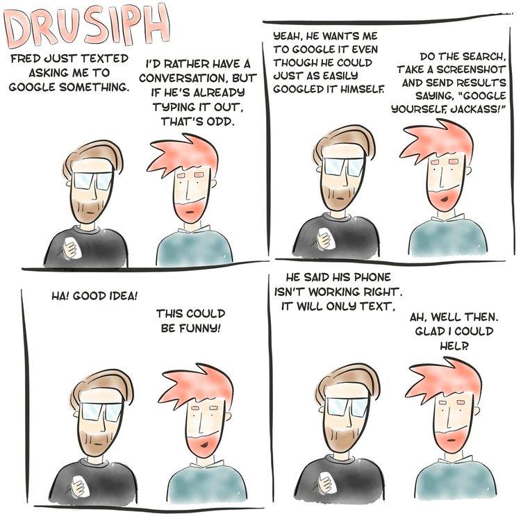 drusiph, comic, comicstrip, comicbook - drusiph | ello